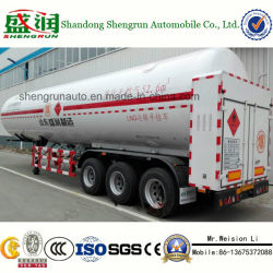 Large Volume Tank Semi Trailer LNG Tanker with Low Price