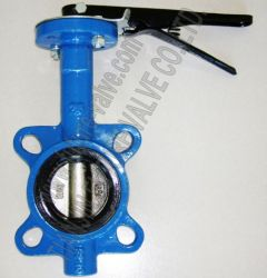 Wafer Butterfly Valve Pn16 Dn65 Multi Drilling No Pin Stem (D71X-16)