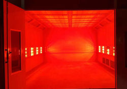 Spray Booth for Large Bus/Truck/Plane/Train (23m)
