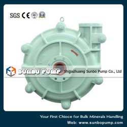 High Head Centrifugal Slurry Pump for Mineral Processing with SGS Certificate