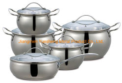 10 PCS Cookware Sets & New Stainless Steel Kitchenware