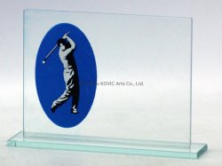Crystal Glass Trophy Craft for Ball Game Sport Award Souvenir