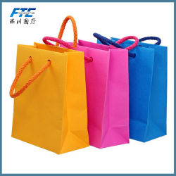 Promotional Cheap Custom Luxury Kraft Paper Shopping Bag