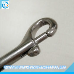 Stainless Steel Double Bolt Snap Hook