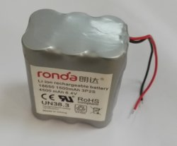 2s3p 6.4V 4.5ah Ifr18650 LiFePO4 Battery Pack for Emergency Light (CB, Ce, UL, Un38.3, Bis)