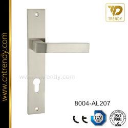 Aluminum Door Lock Handle Exterior Apartment Door Plate Handle (8004 AL207)
