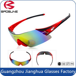 0f119587794 UV400 Mens Polarized Outdoor Sports Wrap Sunglasses