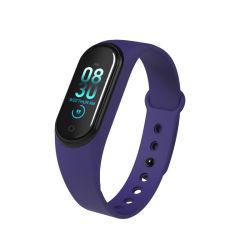 Sport Fitness Waterproof Wireless Bluetooth Earphone Bracelet Body Temperature Touch Screen Watch Smart
