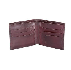 Good Quality Vintage Real Leather Fold Wallet Credit Card Wallet