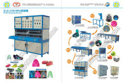 Latest Kpu Molding Machine for Sports Shoe Upper, Bag Treatment etc.
