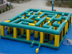 Commercial Grade Inflatable Maze for Sports Game (CYSP-653)
