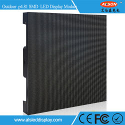 P4.81 Outdoor Curved/Flexible LED Video Screen Display for Events Rental