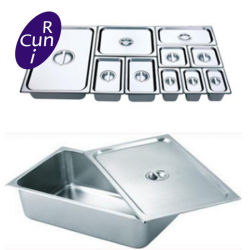 Stainless Steel Gastronorm Container Food Pan