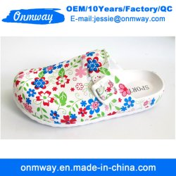c461adc9a3c1ca Flower Printed Ladies Crocs Shoes