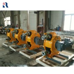 Risen Rh100 Industrial Squeeze Hose Pump with Flange Coupling / 4 Inch Peristaltic Pump / Bentonite Slurry Pump /Light Weight Foam Concrete Pump