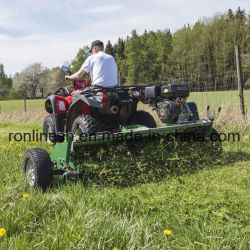 13HP Honda 13HP BS/15HP Engine Powered ATV Flail Mower/Quad Mower/UTV Flail Mower/Flail Mower/Quad Mulcher/Grass Mower with Flap and Cutting Width 120cm