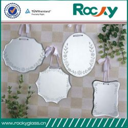 Factory Produce 3mm-6mm Safety Film Coated Silver Mirror