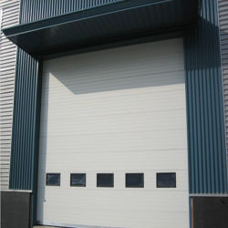 Steel Sectional Industrial Doors/Factory Use Industrial Doors (HF-0128) & Steel Industrial Door Factory China Steel Industrial Door Factory ...