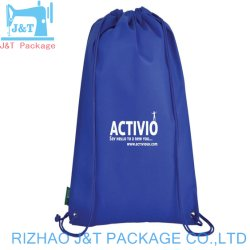Wholesales Colorful Sports Polyester Backpack, Drawstring Bags for Daily Use