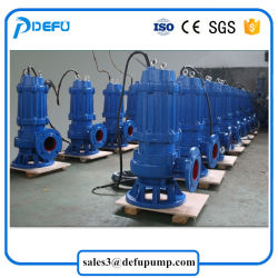 Wq/Qw Wastewater Treatment Submerged Sewage Pump with Self Coupling System