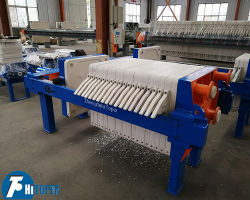 Slurry Recessed Dye Filter Press Machine for Fruit Juice