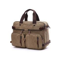 ee89bf774e Western Style Custom Casual Fashion Travel Hand Bags Wholesale Retro  Vintage Messenger Bags   Men Canvas