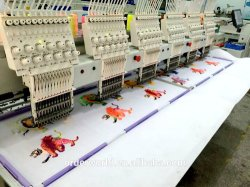 Wonyo 6 Head Computer Embroidery Machine for Cap /Flat Embroidery