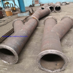 Clad/Cladding Pipe for Conveying Bulk Dust and Slurry.