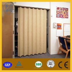 PVC Folding Door with Glass Door (HM-12)