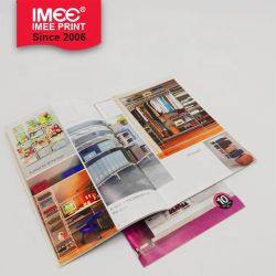 Imee Factory Professional Custom Saddle Stitch Offset Printing Film Lamination Softcover Textbook Paper Textbook Printing