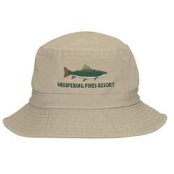 OEM Service Professional Factory Wholesale High Quality Round Brim Cotton Bucket Hat