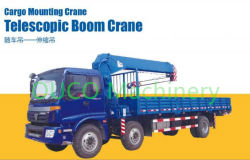 5t Telescopic Boom Truck Mounted Crane Simple Design and Easy Maintenance