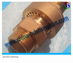 Custom Forging and CNC Machining Machined Brass Valve and Pump Parts