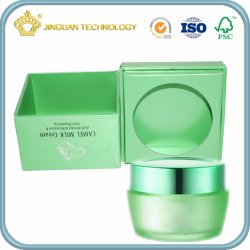 Skin Lotion Packaging Box with Custom Design Printing (with inner tray)