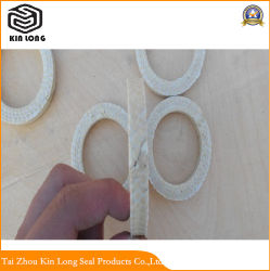 Aramid Fiber Packing Ring; Ring Type Fiber Oil Seal, Fiber Packing Ring Accessory of Stuffing Box;