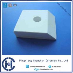 Alumina Ceramics Weld-on Tile with Steel Casing for Abrasion Resistance