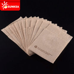 100% Compostable Wheat Straw Brown Paper Napkins