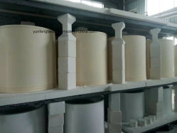Abrasion Resistant High Alumina Ceramic Tube for Slurry, Water Conveying