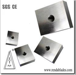HSS Inlay D2 1.2379 PVC Plastic Shred Machine Recycling Zerma Single Shaft Shredder Blade Knife