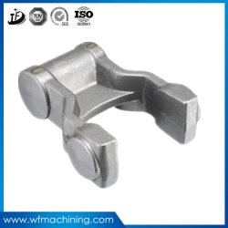 ISO9001 Forged Steel Forging Cover Plate with CNC Lather Drilling Hole
