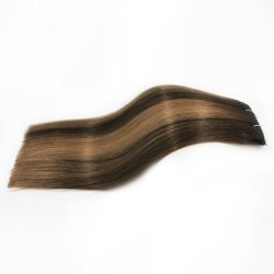 Best Quality Remy Human Hair Weaves No Shedding No Tangle No Dry Multi 3 Colors Silk Straight Double Drawn