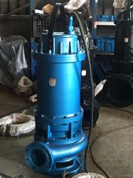 Electric Centrifugal Borehole Well Copper Wire Dirty Sand Sewage Cutter/Grinder/Agitator Submersible Water Pump Factory