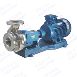 Stainless Steel Centrifugal High Temperature Hot Water Pumps Glf80K-20