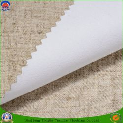 Home Textile Woven Polyester Coated with PVC Waterproof Fr Blackout Curtain Fabric