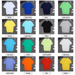 Sale Clothes Sport Tshirt Clothing Cotton Women T-Shirt Wholesale Men T Shirt
