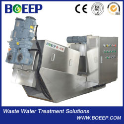 Screw Sludge Dewatering Machine, Multi-Disk Screw Machine for Oil Chemical Industry