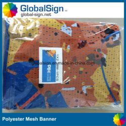 Sporting Event Windy Condition Polyester Mesh Banner