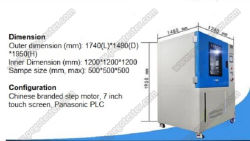 Box Type Oscillating Tube for Waterproof Test Apply to LED Luminaire