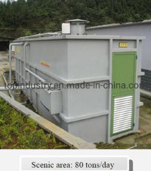 Remove BOD5/Cod/Nh3-N Buried/Ground Biological Intergrated Sewage Treatment Machine Container for Hotels/Restaurants/Office/Mall/Schools/Railways/Factories