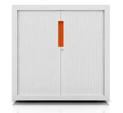 Steel Tambour Door Filing Cabinets (iCab-RD)